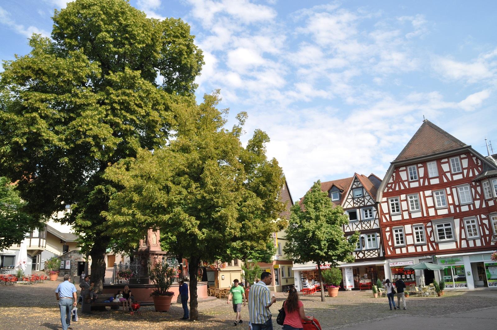 Marktplatz Bensheim