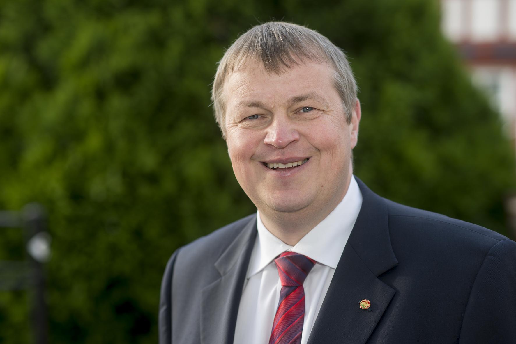 Bürgermeister Rolf Richter, Foto: Thomas Neu