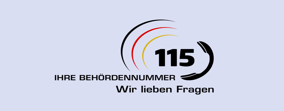 115 Behördennummer