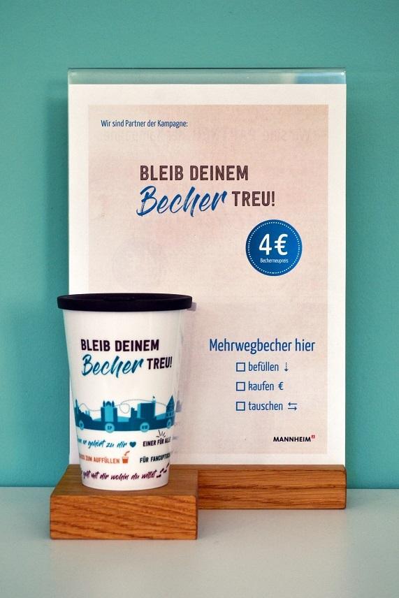 BLEIB DEINEM Becher TREU in Bensheim