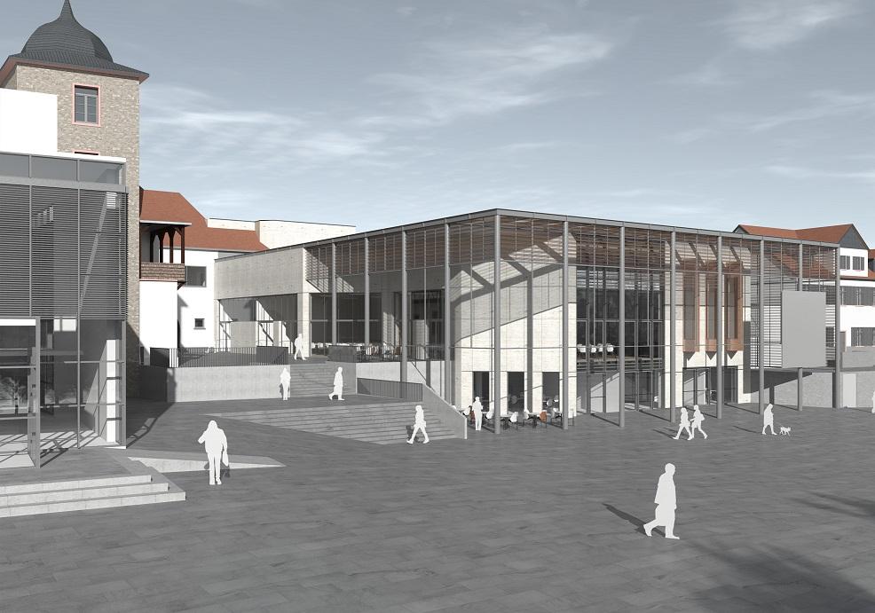Visualisierung Bürgerhaus: RITZ & LOSACKER