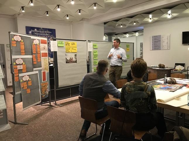 2. Arbeitsgruppentreffen Marktplatz der Zukunft