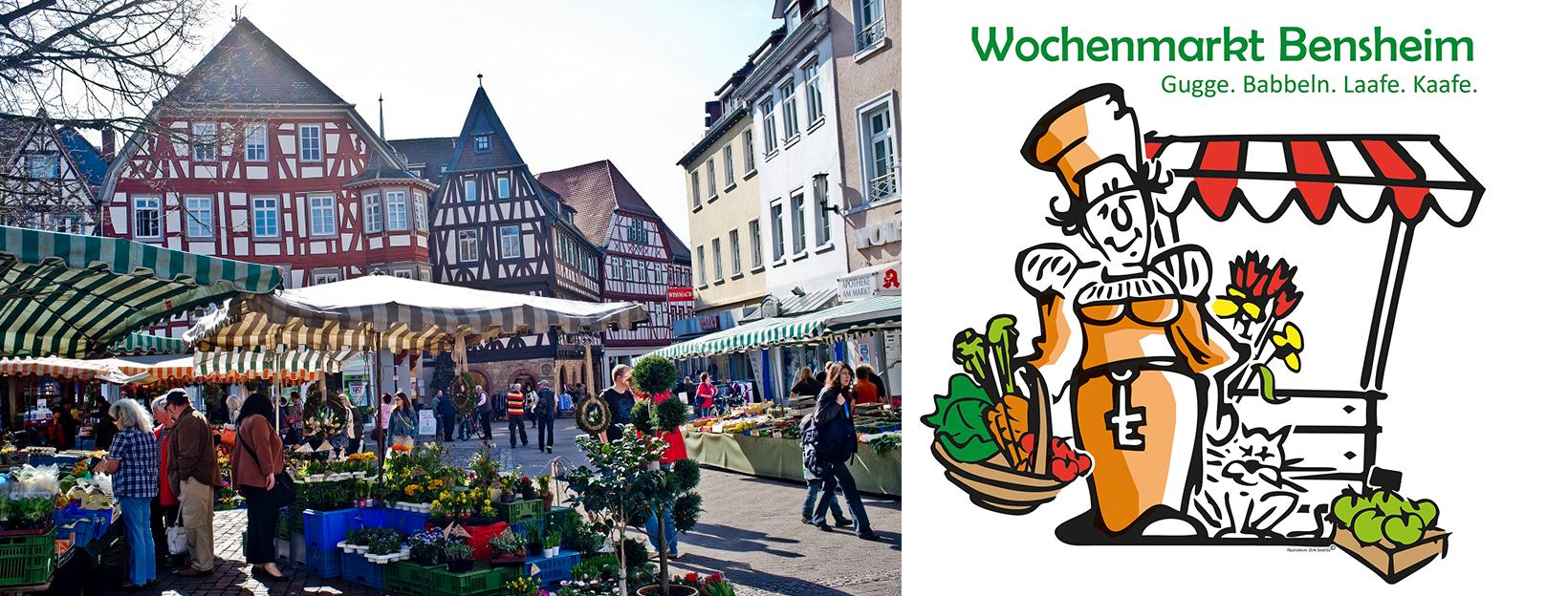 Bensheimer Wochenmarkt