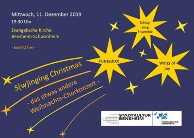 S(w)inging Christmas - das etwas andere Weihnachts-Chorkonzert